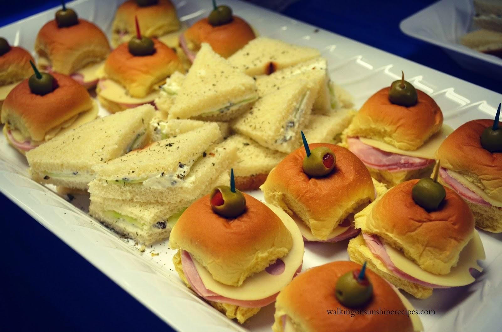 Bridal Luncheon Sandwiches