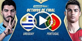 Uruguay vs. Portugal TRANSMISIÓN EN VIVO