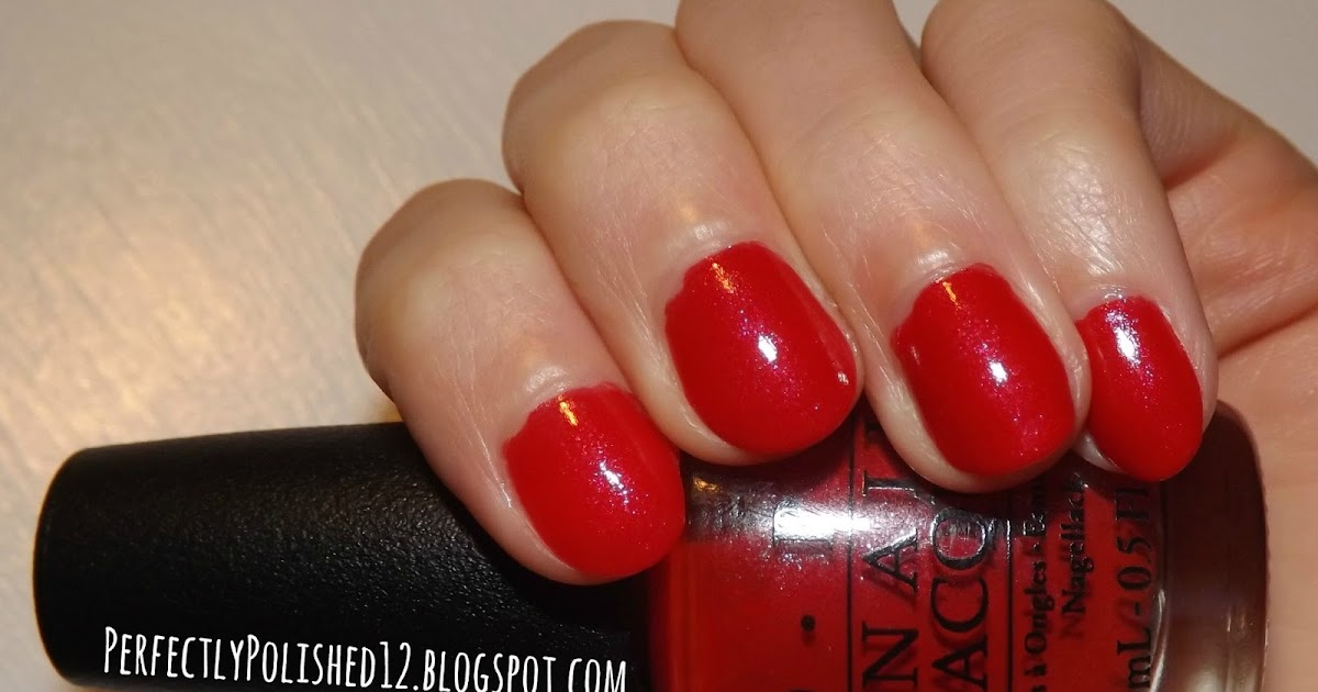 "Perfectly Polished 12: Perfectly Polished 12: OPI ""Love Athletes In Cleats"""