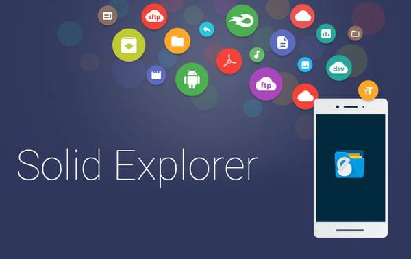 تطبيق مدير الملفات Solid Explorer File Manager