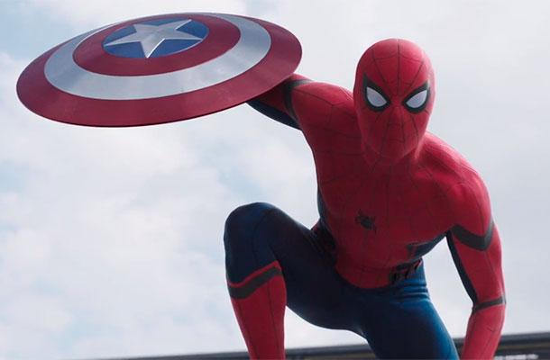 Capitão America - Homem Aranha