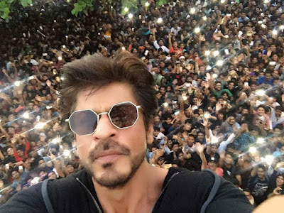 Happy Birthday SRK selfie