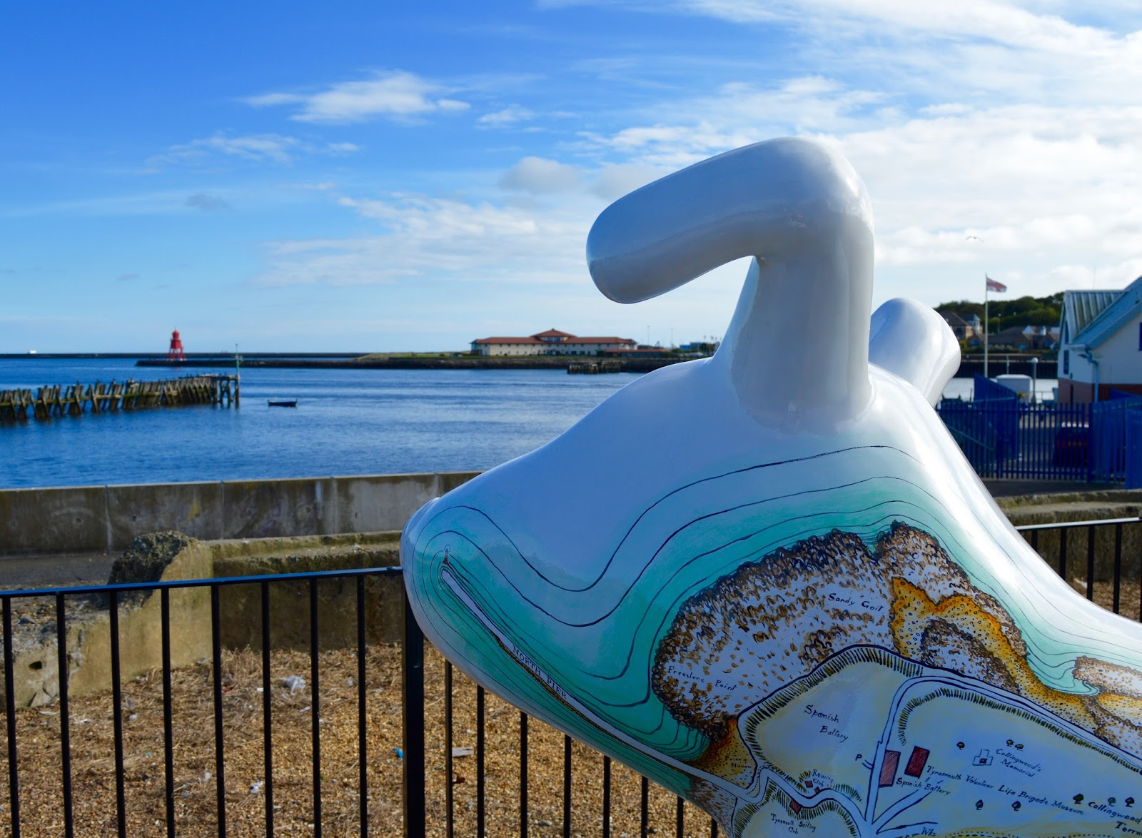 The Little Fishy | Mobile Fish & Chips at Tynemouth Market - A Review - Great North Snowdog 'Guide Dog' North Shields Fish Quay