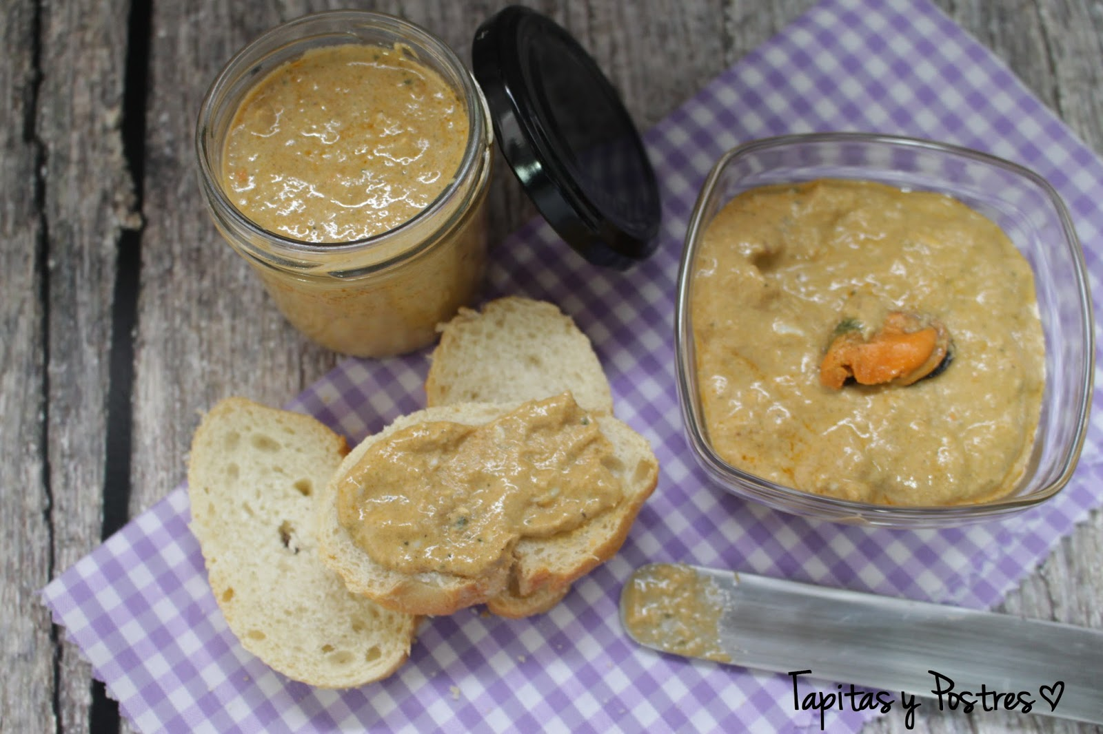 pate mejillones thermomix