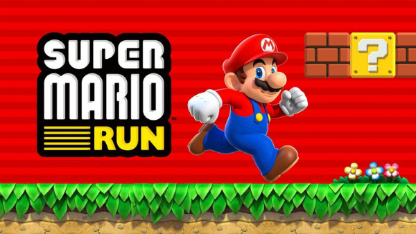 Super Mario run an application begins his first steps on the Android