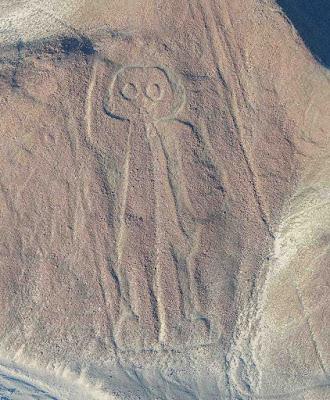 El Astronauta - Lineas de Nazca