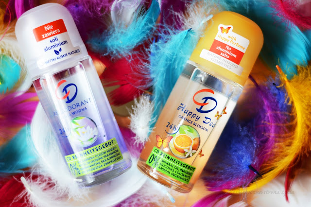 CD REINHEITSGEBOT | KOSMETYKI DO PIELĘGNACJI CIAŁA dezodorant roll on happy kwiat pomarańczy lilia wodna