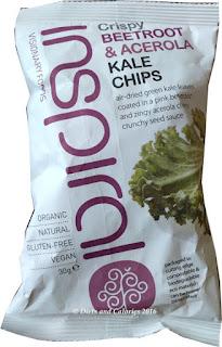 Inspiral Beetroot & Acerola Kale Chips