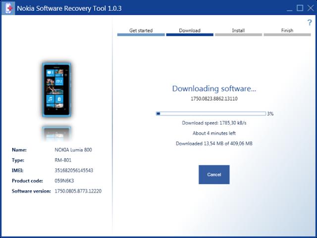 Gratis Download Nokia Software Recovery Tool For Windows Phone Dari berga