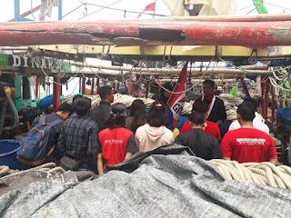 Kapal Nelayan dan Lahan Konflik Menjadi Saksi GMNI