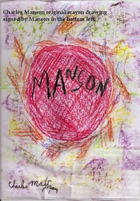 Top 15 Serial Killer Artists: Art by Charles Manson (1)