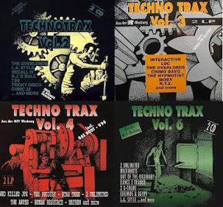 techno trax lemezborítók