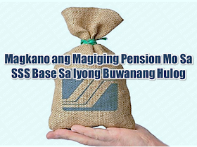 As an SSS member, do you any idea how much you will get after many years of religiously paying your contributions?   We will give an idea on how SSS monthly pension is computed.         The monthly pension computation is based on this formulas and whichever the higher value may be, that will be the amount of your monthly pension.   A) 300 + (20% x AMSC*) + (2% x AMSC) x (CYS** – 10)    B) 40% x AMSC;     C) The minimum pension of P1,200, if with at least 10 CYS; or P2,400, if with at least 20 CYS, whichever is applicable.    *AMSC (Average Monthly Salary Credit)  ** CYS (Credited Years of Service)    Using three computations above, assuming the case of someone who contributed for 25 years based on the AMSC of P16,000.      Using the first formula, we have P300 + 20 percent (16,000) + [2 percent (16,000) x (25-10)]=P300 + P3,200 + [320 x15]=P8,300. The basic pension amount in this case is P8,300.    The second formula, which is 40 percent of the AMSC, will be 40 percent of P16,000=P6,400.      Applying the third formula would yield P2,400 as the basic pension.       Since the law provides that the highest amount shall be granted as the pension, this means that the basic pension shall be P8,300.       Sponsored Links        For example, the cases of Juan and Pedro. Juan has a monthly salary credit of P1,000 (the lowest salary level subject to the SSS contribution) and contributes to SSS based on this salary for 25 years, while Pedro has a monthly salary credit of P16,000 (the maximum salary as of to-date) and also contributes for 25 years.       Juan's monthly contribution of P110 would total P33,000 after 25 years of contribution to the SSS, while Pedro, whose monthly contribution of P1,7650, would sum up to P528,000 after 25 years.    If they both file for retirement pension at the same time and receive pensions for 25 years, Juan, whose pension will amount to P2,400 per month, would have received a total of P780,000, while Pedro, whose monthly pension is P8,300, would have received P2,699,500 after 25 years.      If they both pass away their pensions will cross over to their spouses as their primary beneficiaries.    Now that you have an idea how much you will be received in case you will retire, it is in your hands how much would you like to contribute for your retirement. The bigger your contribution, the bigger pension you will get once you retired.    Read More:   Popular Pinoy Stores In Canada  10 Reasons Why Filipinos Love Canada  Comparison Of Savings  Account In The Philippines:  Initial Deposit, Maintaining  Balance And Interest Rates  Per Annum  Mortgage Loan: What You Need To Know  Passport on Wheels (POW) of DFA Starts With 4 Buses To Process 2000 Applicants Daily   Did You Apply for OFW ID and Did You Receive This Email?  Jobs Abroad Bound For Korea For As Much As P60k Salary  Command Center For OFWs To Be Established Soon    ©2018 THOUGHTSKOTO  www.jbsolis.com   SEARCH JBSOLIS, TYPE KEYWORDS and TITLE OF ARTICLE at the box below