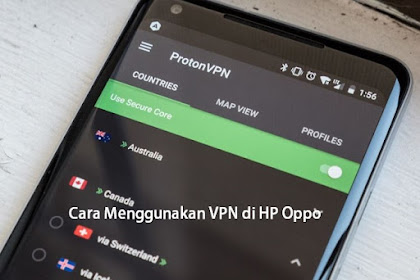 Cara Menggunakan VPN di HP Android Oppo