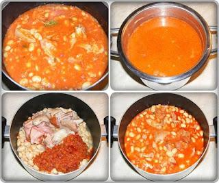 preparare mancare de fasole uscata cu ciolan de porc afumat, cum se face mancarea de fasole supa si scazuta, retete de mancare, retete culinare, preparare supa de fasole, retete supa de fasole cu ciolan afumat preparare,