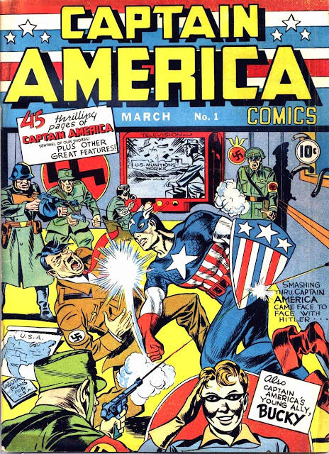 Captain America Comics v1 #1, 1941 Timely golden age comic book cover