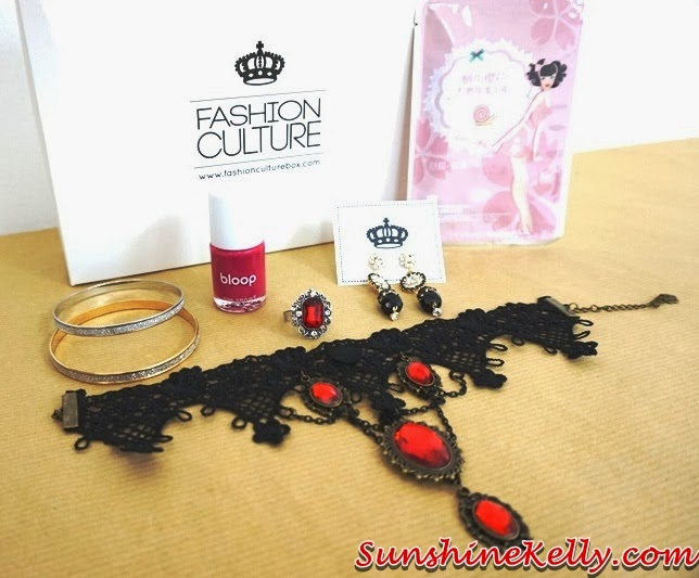 Fashion Culture Box, Fairytale Series, queen of hearts, fashion accessories, review, fashion box giveaway, fashion box
