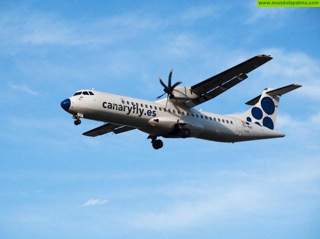 Canaryfly permite el cambio de fecha de sus vuelos sin coste adicional