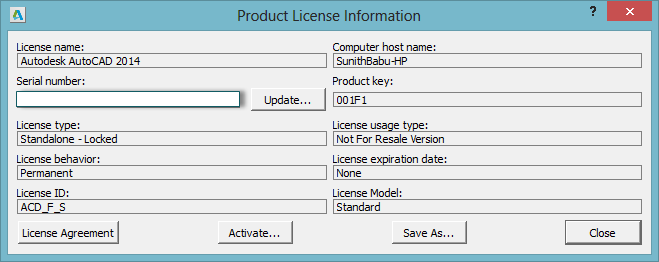 Download free software Autodesk Serial Number And Product