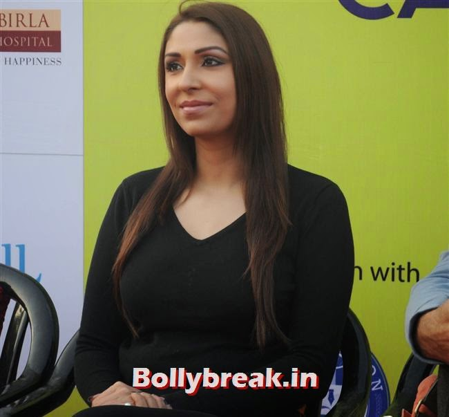 Pooja Misra, Pooja Misra at Femina Marathon-Run to Save The Girl Child