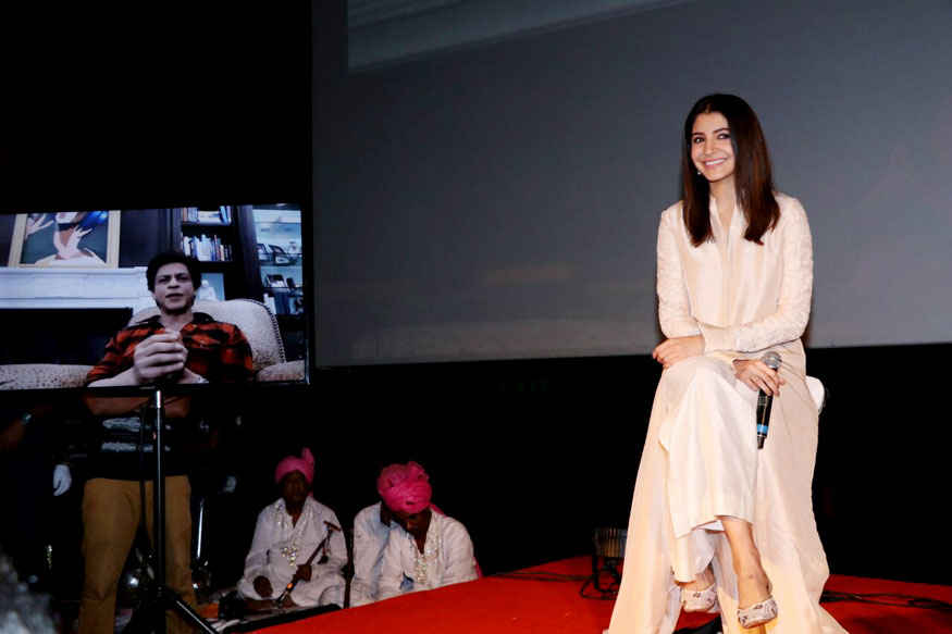 Anushka Sharma at Trailer Launch of 'Jab Harry Met Sejal' at PVR Juhu
