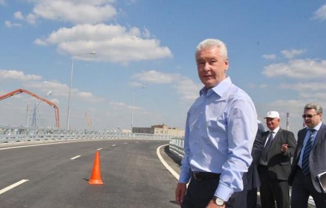 Собянин открыл движение по участку Северо-Восточной хорды