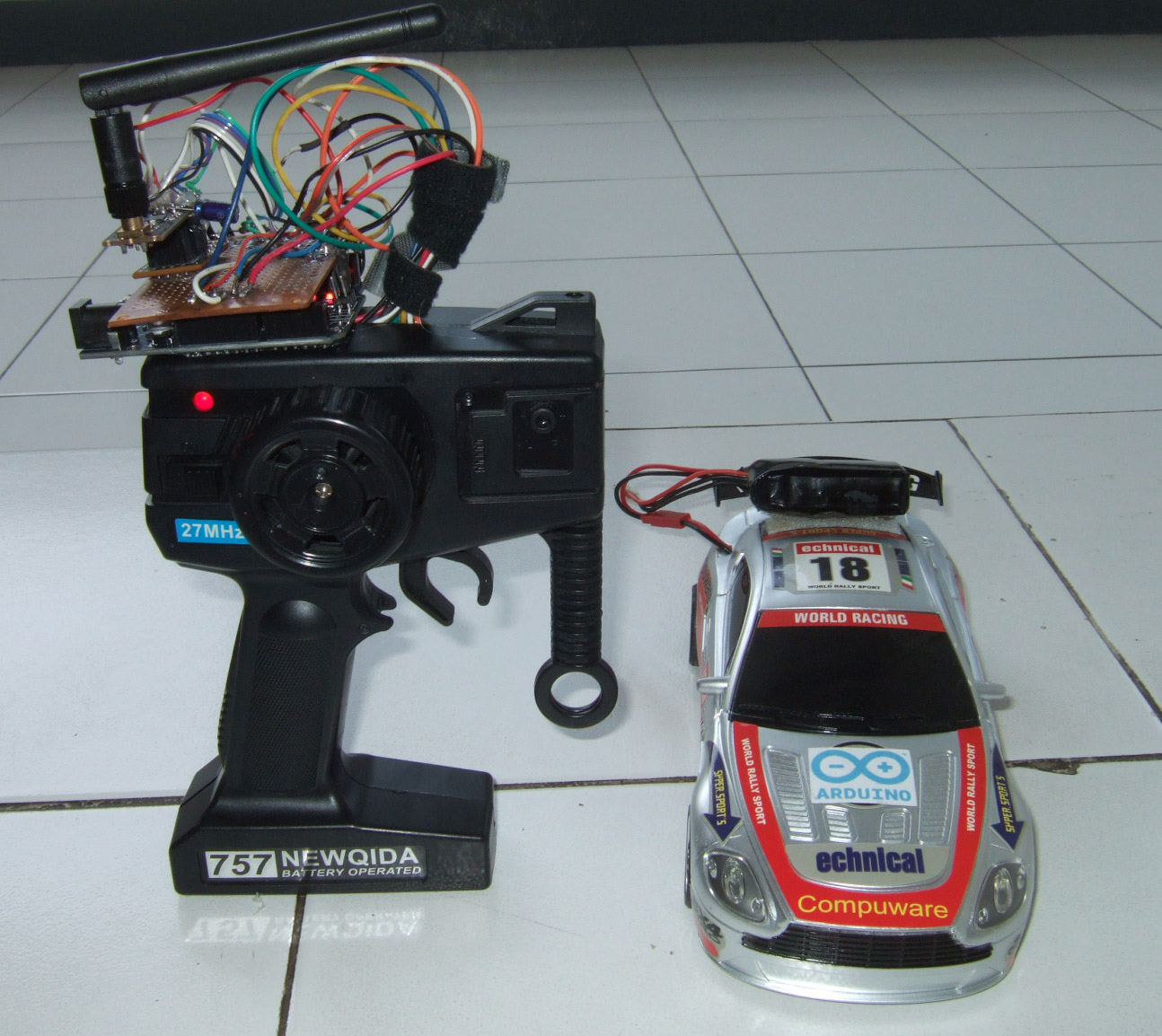 Hobby Witch: How to hack RC CAR via Arduino nRF24L01 2 4G