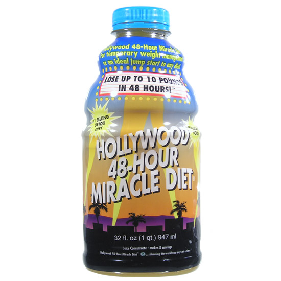 Hollywood miracle diet