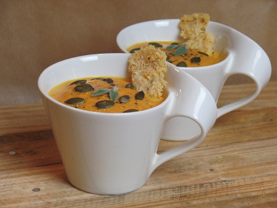 Pumpkin Cheddar Soup Recipe
