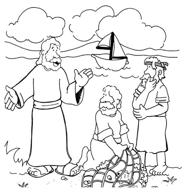 Jésus appelle Simon et Pierre