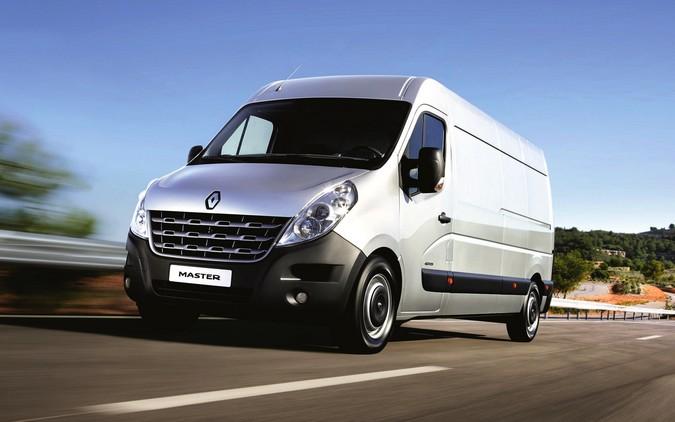 Renault Master é o veículo de maior valor de revenda entre todos os utilitários do país