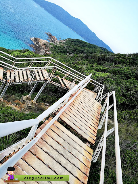 Breathtaking view kat Pulau Perhentian