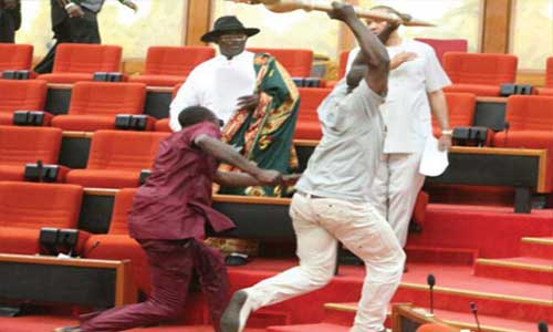 JUST IN: Mace Theft: National Assembly committee summons Omo-Agege, Ndume for alleged roles