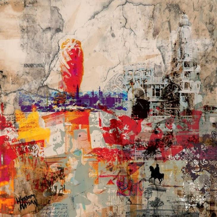 Expresivo arte contemporaneo desde Egipto.