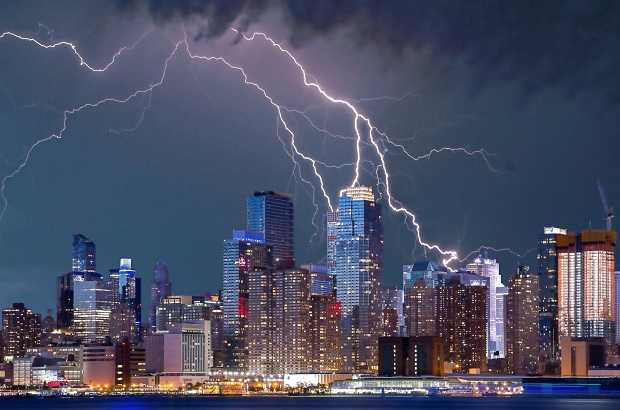Electrical Instability Caused by Lightning