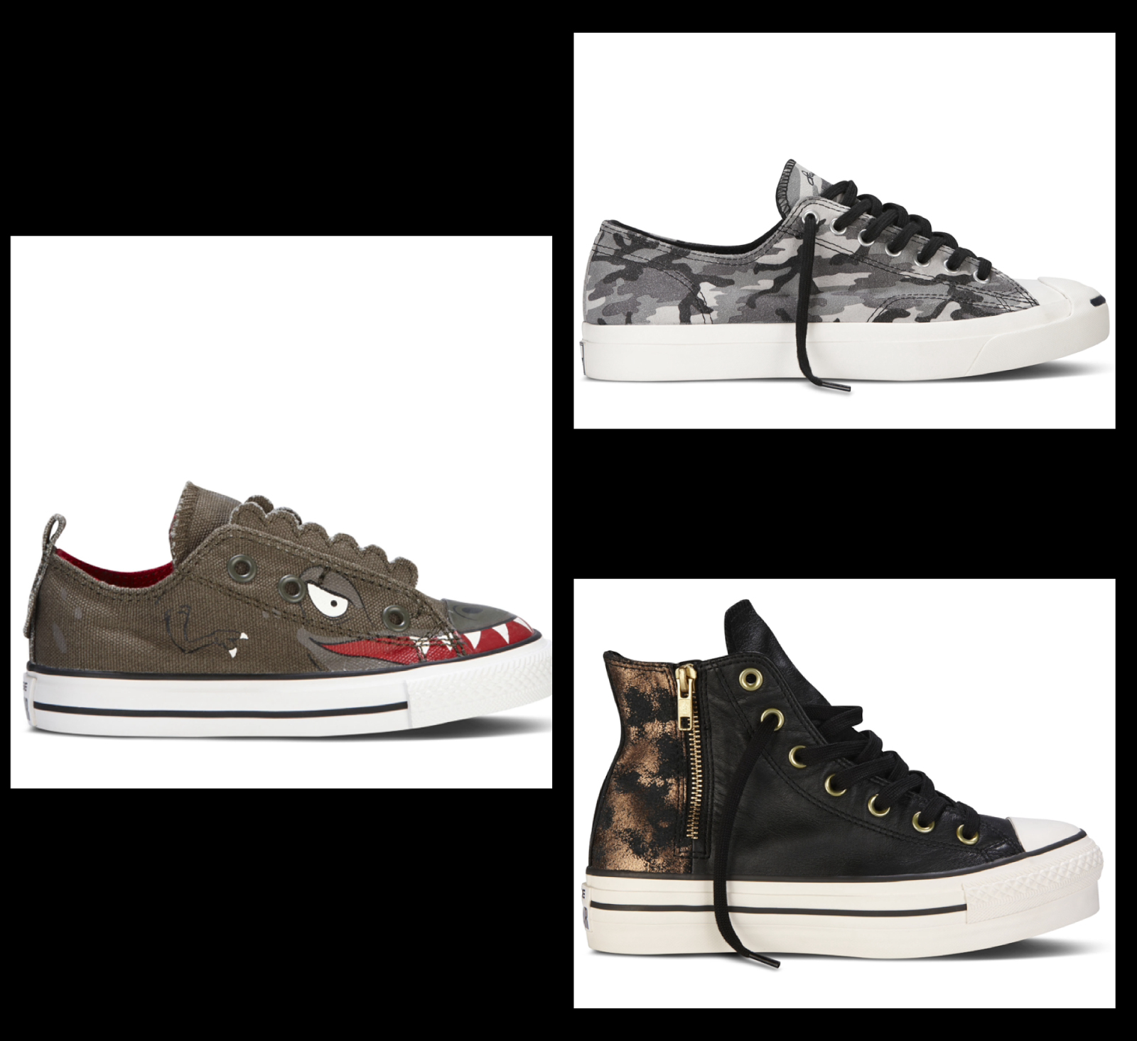 fbec6493abf9 Another treat for us at Converse  the self design option on their website  to customize your shoes! Enjoy this sneak peek into the holiday collection  and get ...