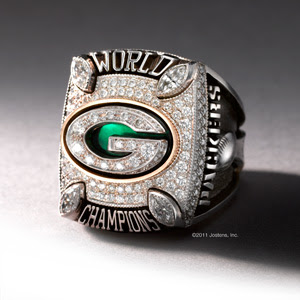 the 45th Super Bowl ring Green Bay Packers