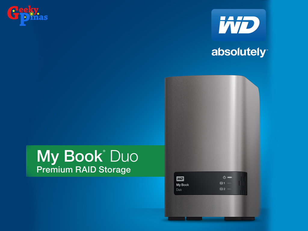 WD's My Book Duo available in 4TB, 6TB, 8TB and 12TB Capacities
