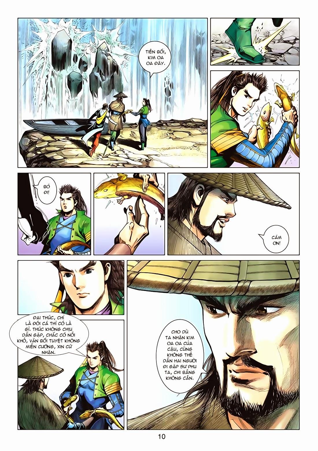 Anh Hùng Xạ Điêu anh hùng xạ đêu chap 72: ngư tiều canh độc trang 10