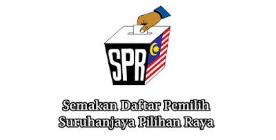 Semakan Daftar Pemilih Pilihanraya SPR (PRU14) Online