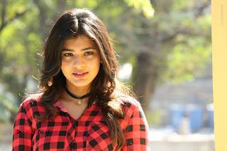Actress Hebah Patel Stills in Blue Denim Jeans at Nanna Nenu Naa Boyfriends Movie Success Meet  0097.JPG