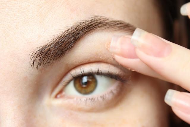 twenties make-up: step 1