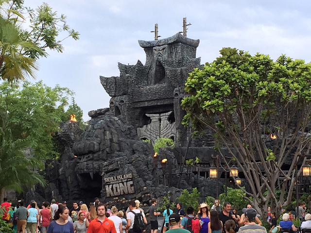 Juego de King Kong en Islands of Adventure