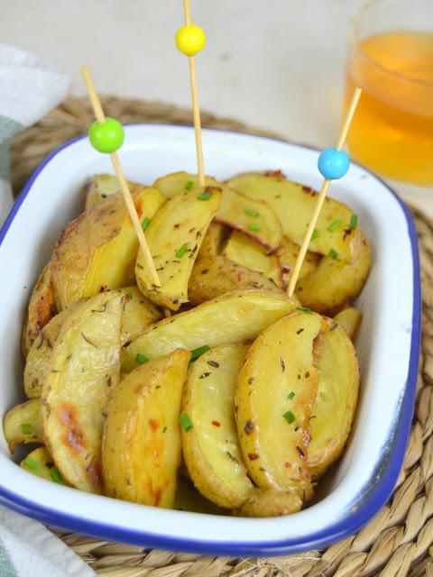 Patatas asadas a la cerveza