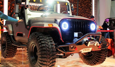 Mahindra Thar Daybreak Edition right side pics