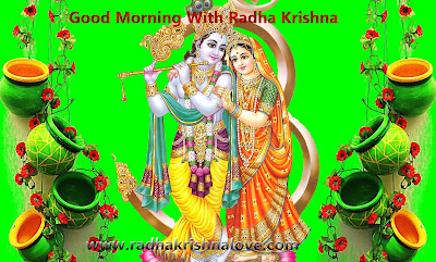Good Morning With Radha Krishna