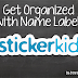 Get Organized With StickerKid | Review