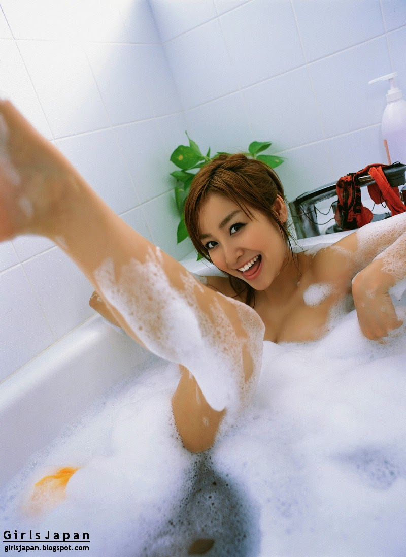 Aya Kiguchi Bubble Bath Images