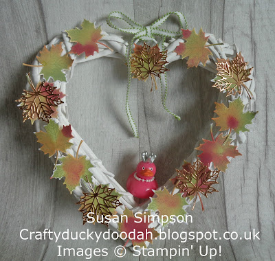 Stampin' Up! UK Independent  Demonstrator Susan Simpson, Craftyduckydoodah!, Colorful Seasons, Supplies available 24/7 from my online store,
