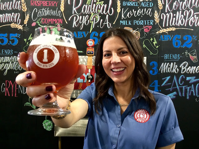 Cari Caramonta, Co-founder and Creative Director of Gnarly Barley Brewing in Hammond, LA
